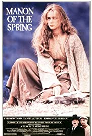 Manon of the Spring (1986) Poster - Movie Forum, Cast, Reviews