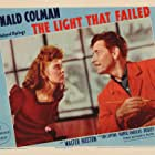 Ronald Colman and Ida Lupino in The Light That Failed (1939)