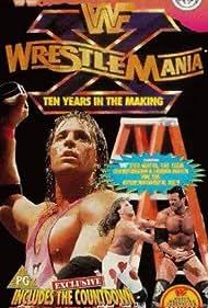 Yokozuna, Scott Hall, Bret Hart, Owen Hart, Shawn Michaels, Pierre Carl Ouellet, Larry Pfohl, and Jacques Rougeau in WrestleMania X (1994)