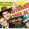 Gloria Stuart, Henry Armetta, Tony Martin, and Slim Summerville in Winner Take All (1939)