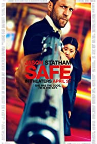 Jason Statham and Catherine Chan in Safe (2012)