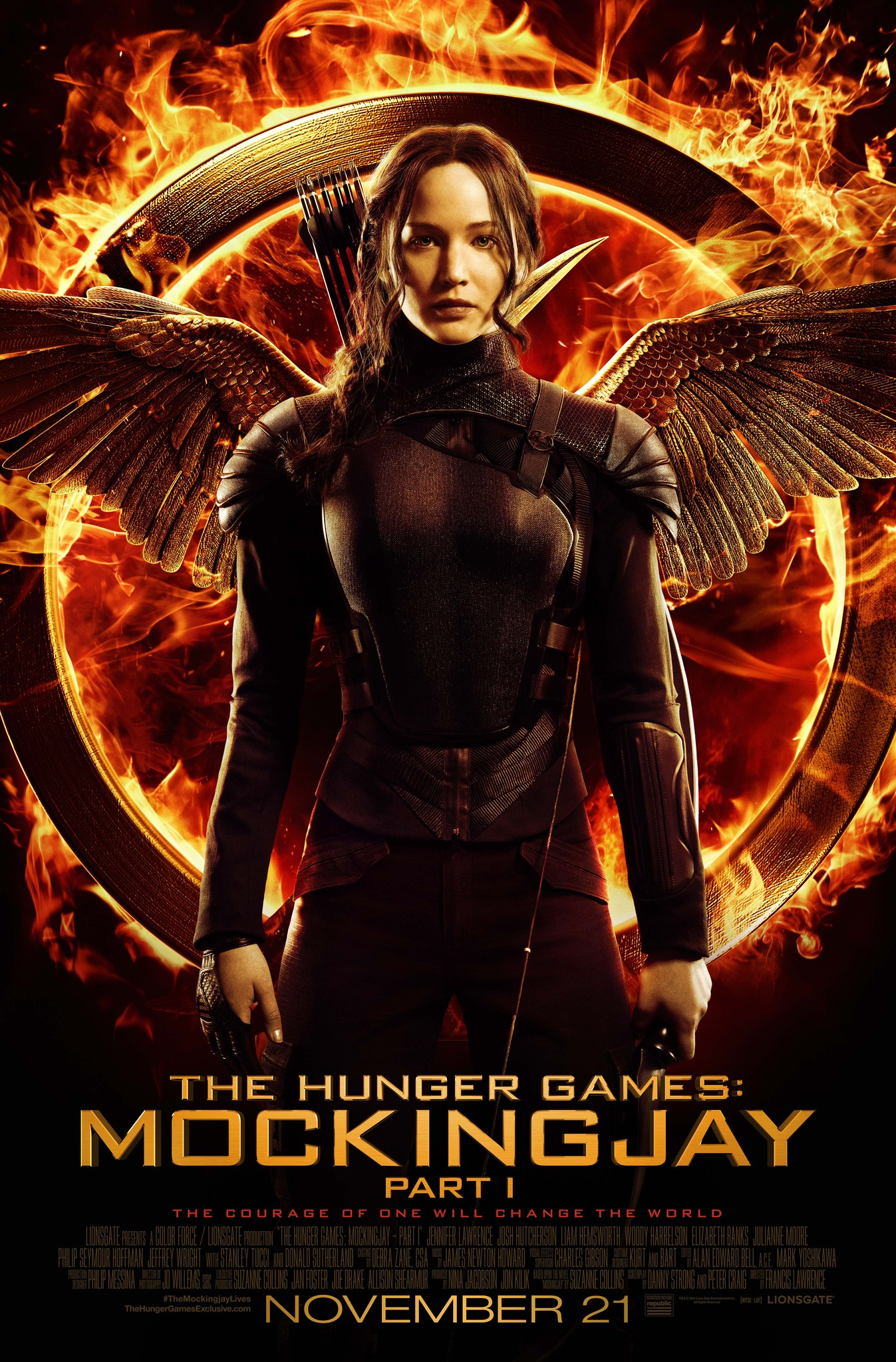 Image result for hunger games 2014 part 1  title poster full hd