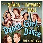 Maureen O'Hara, Lucille Ball, Mary Carlisle, Louis Hayward, and Lorraine Krueger in Dance, Girl, Dance (1940)