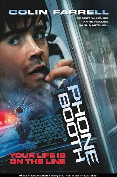 Download Phone Booth (2002) Full Movie In Hindi-English (Dual Audio) BluRay 480p [300MB] | 720p [700MB]