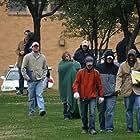 John Venable, Brandon Jones, Nicole Leigh, Greg Beauchamp, Brandon Knieper, Morgan Bennett, and Chance Watts in Karma Police (2008)