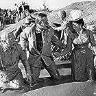 Maureen O'Hara, John Wayne, and Chill Wills in McLintock! (1963)