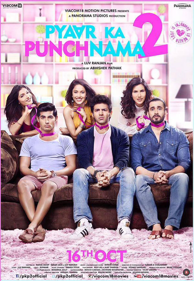 Pyaar Ka Punchnama 2 (2015) WEB-DL [1080p-720p-480p] Hindi x264 AAC 5.1 ESubs