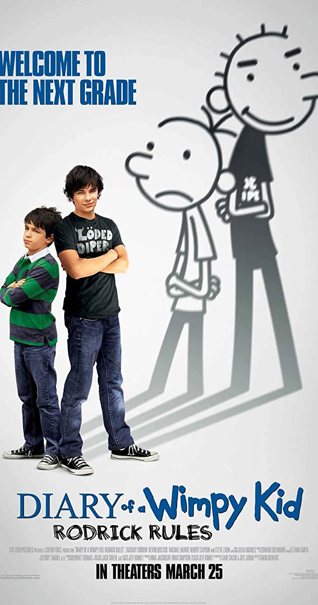 Diary Of A Wimpy Kid Rodrick Rules 2011 Imdb