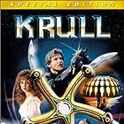 Lysette Anthony, Bernard Bresslaw, and Ken Marshall in Krull (1983)