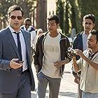 Jon Hamm, Madhur Mittal, Pitobash, and Suraj Sharma in Million Dollar Arm (2014)