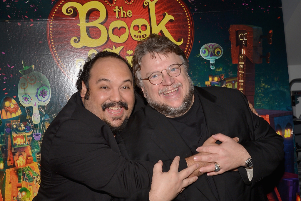 Guillermo del Toro and Jorge R. Gutiérrez in The Book of Life (2014)