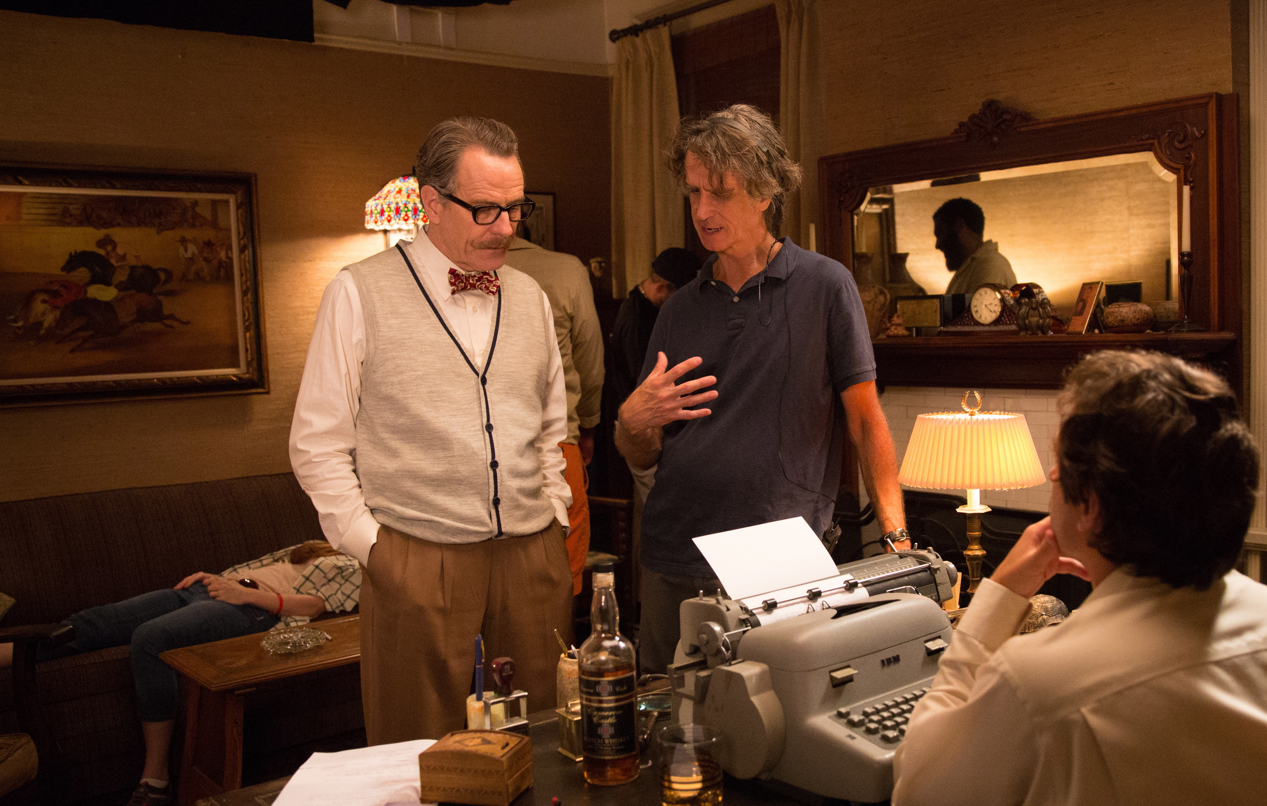Jay Roach and Bryan Cranston in Trumbo (2015)