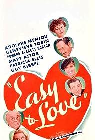 Mary Astor, Edward Everett Horton, Patricia Ellis, Guy Kibbee, Adolphe Menjou, and Genevieve Tobin in Easy to Love (1934)