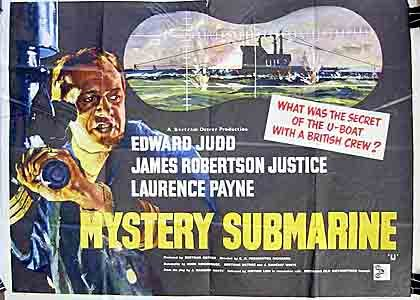 Connect pc tv watching movies Mystery Submarine by Ralph Thomas [[480x854]