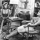 Despo Diamantidou and Melina Mercouri in Pote tin Kyriaki (1960)