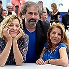 Valeria Bruni Tedeschi, Tassadit Mandi, and Gustave Kervern at an event for Asphalte (2015)