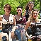 Agnes Bruckner, Zoë Bell, Serinda Swan, Brea Grant, and Arden Cho in The Baytown Outlaws (2012)