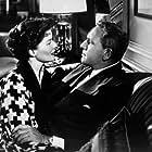 "722-1041 Katharine Hepburn and Spencer Tracy in ""Adam's Rib"" 1949 MGM MPTV"