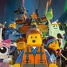 Morgan Freeman, Will Ferrell, Will Arnett, Elizabeth Banks, Charlie Day, Nick Offerman, Chris Pratt, and Alison Brie in The Lego Movie (2014)