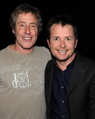 Michael J. Fox and Roger Daltrey