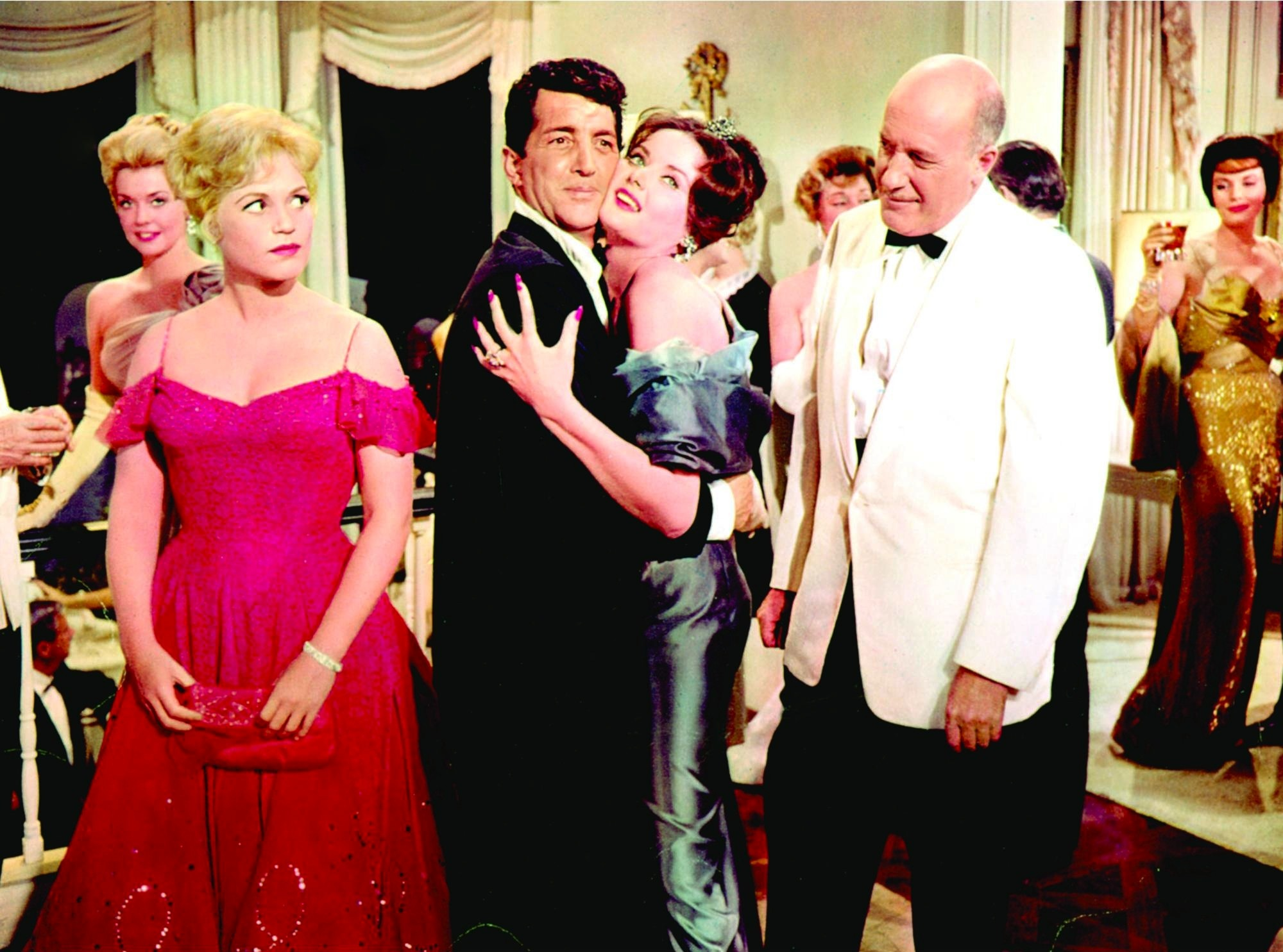 Dean Martin, Fred Clark, and Judy Holliday in Bells Are Ringing (1960)