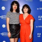 Cecilia Frugiuele and Desiree Akhavan at an event for The Miseducation of Cameron Post (2018)