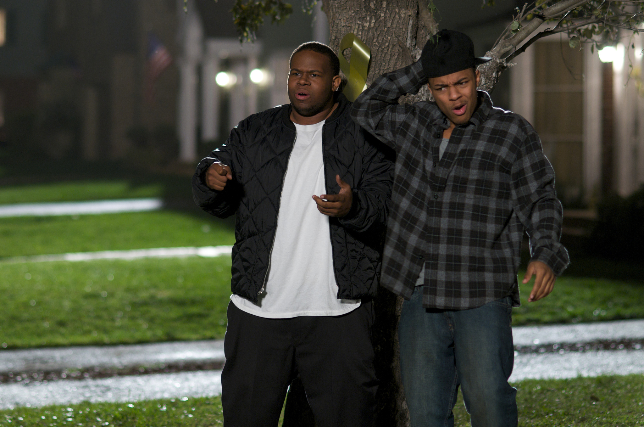 Shad Moss and Jermaine Williams in The Family Tree (2011)