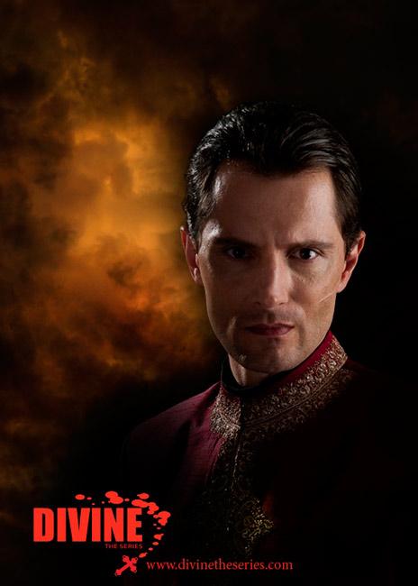John Emmet Tracy as Scorn in Divine: The Series