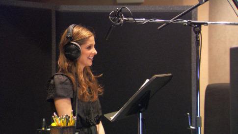 Sarah Michelle Gellar in TMNT (2007)