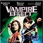 Jackie Chan, Charlene Choi, and Gillian Chung in Chin gei bin (2003)