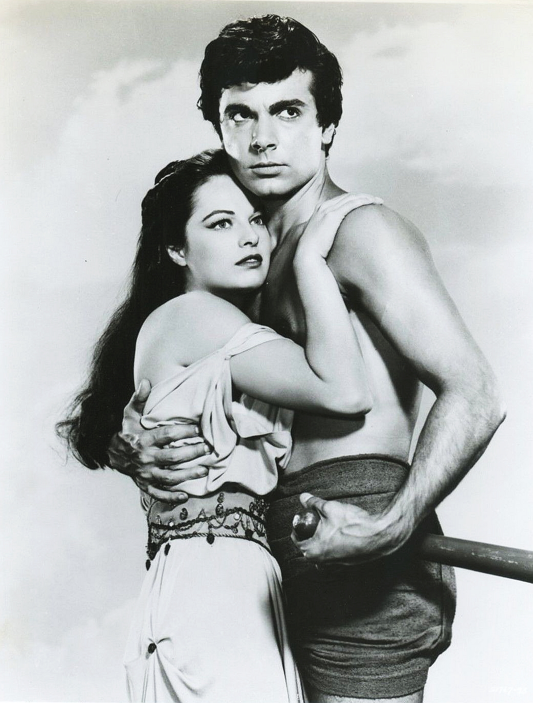 Sal Ponti and Joyce Taylor in Atlantis: The Lost Continent (1961)