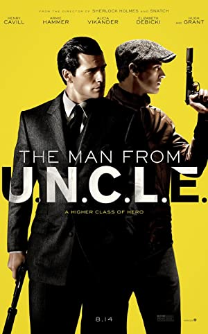 The Man From U.N.C.L.E Poster