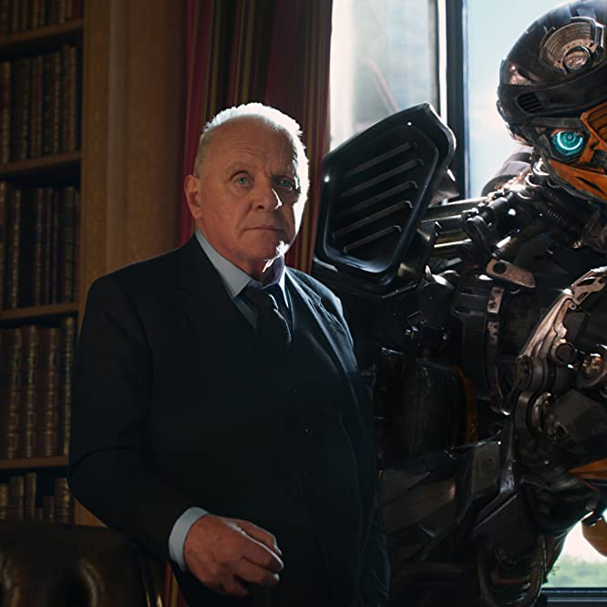 Anthony Hopkins and Omar Sy in Transformers: The Last Knight (2017)