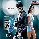 Ravi Teja and Ileana D'Cruz in Kick (2009)