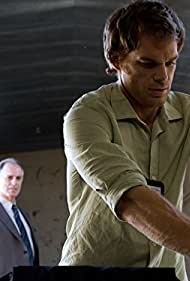 Keith Carradine and Michael C. Hall in Dexter (2006)