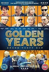 Simon Callow, Alun Armstrong, Phil Davis, Bernard Hill, Sue Johnston, Virginia McKenna, and Una Stubbs in Golden Years (2016)