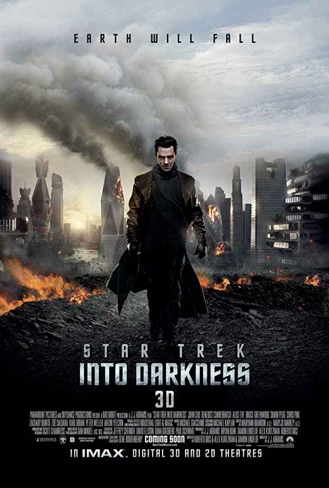 Star Trek: Into Darkness (2013) Dual Audio | Hindi- English | 720p BluRay 900MB