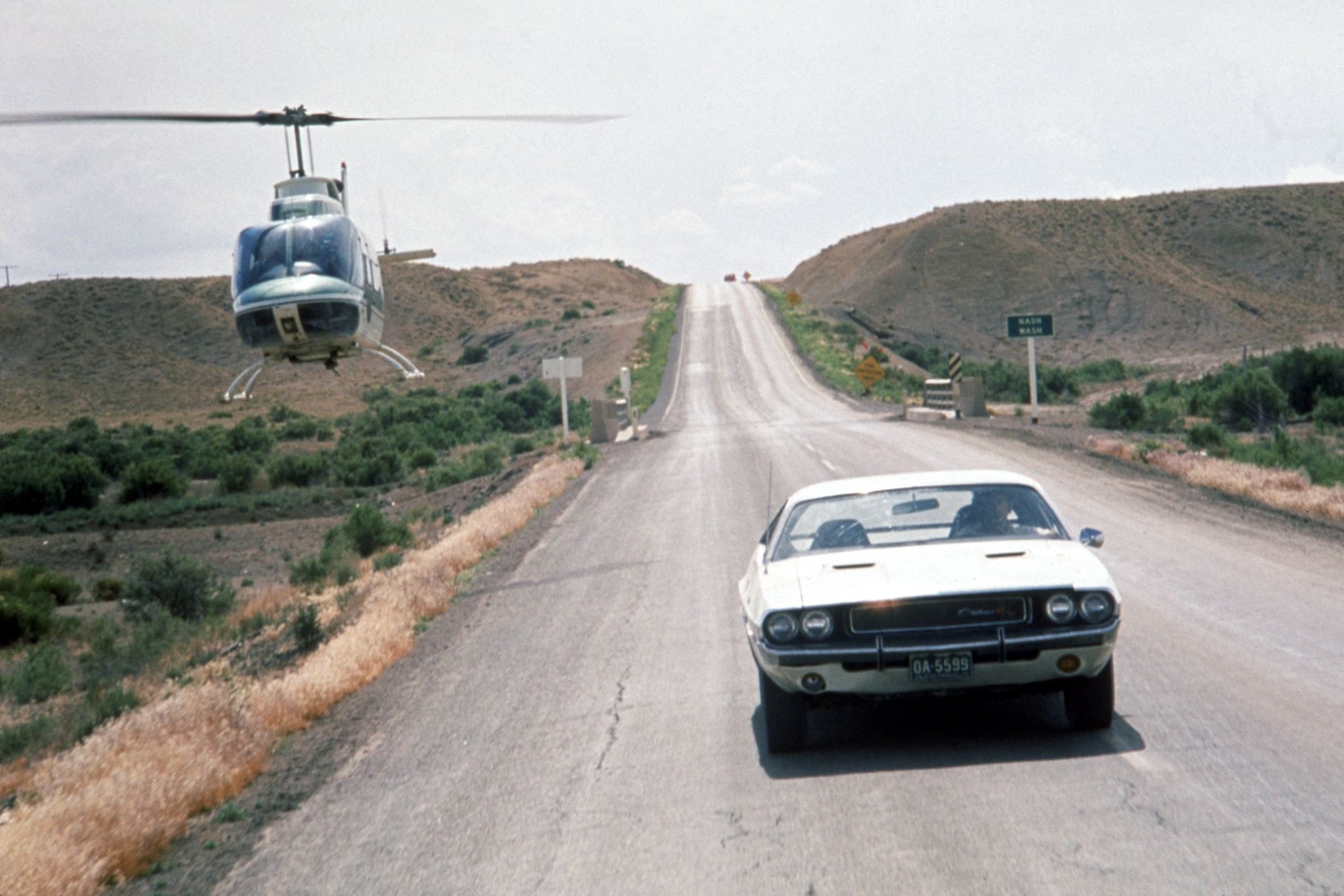 Barry Newman in Vanishing Point (1971)