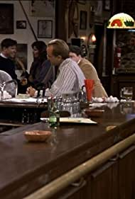 George Wendt, Cameron Thor, and Paul Willson in Cheers (1982)