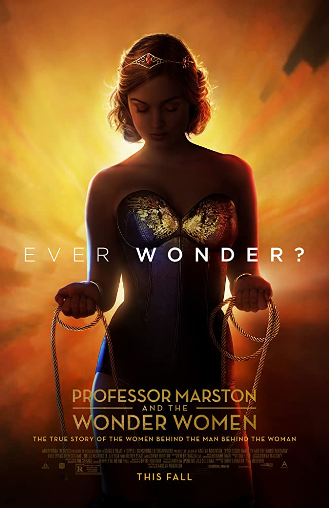 Profesorius Marstonas ir Nuostabioji Moteris / Professor Marston and the Wonder Women (2017)