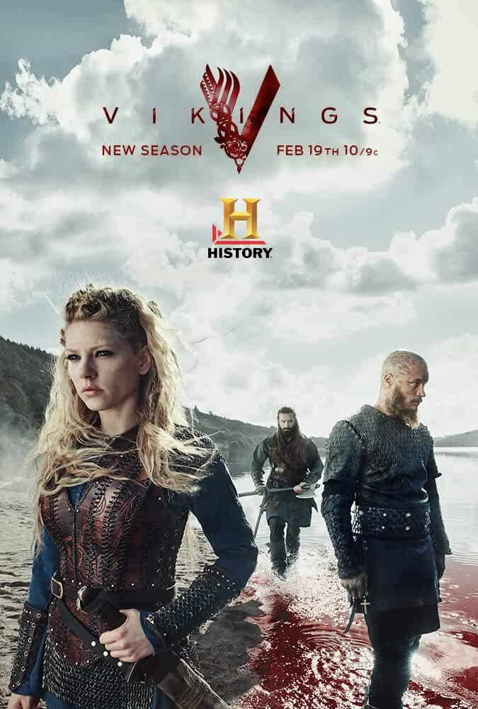 Vikings (2013) Season 1 Hindi Dubbed