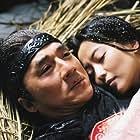 Jackie Chan and Kim Hee-seon in San wa (2005)