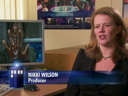 Nikki Wilson in Doctor Who Confidential (2005)