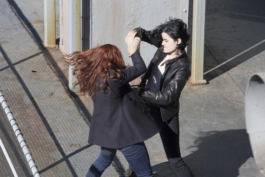 Jaimie Alexander and Heidi Germaine Schnappauf in Blindspot (2015)