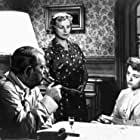 Jeanne Boitel, Jean Gabin, and Annie Girardot in Maigret tend un piège (1958)