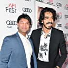Dev Patel and Saroo Brierley at an event for Lion (2016)