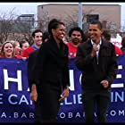 Barack Obama and Michelle Obama in By the People: The Election of Barack Obama (2009)