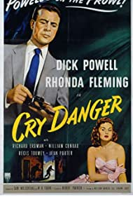 Rhonda Fleming and Dick Powell in Cry Danger (1951)
