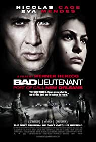 Nicolas Cage and Eva Mendes in The Bad Lieutenant: Port of Call - New Orleans (2009)