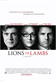 Tom Cruise, Robert Redford, and Meryl Streep in Lions for Lambs (2007)